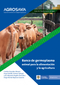 Portada folleto banco de germoplasma