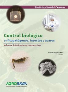 Cubierta para Control biológico de fitopatógenos, insectos y ácaros: Volumen 2. Aplicaciones y perspectivas