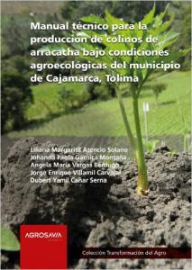 Cubierta para Manual técnico para la producción de colinos de arracacha bajo condiciones agroecológicas del municipio de Cajamarca, Tolima